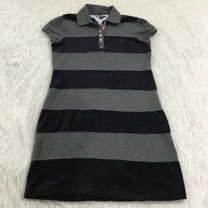 Tommy Hilfiger stripe polo shirt dress